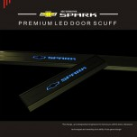 [CHANGE UP] Chevrolet The Next Spark - LED Door Sill Scuff Plates Set