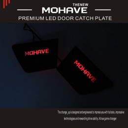[CHANGE UP] KIA The New Mohave​​​ - Metal Premium LED Inside Door Catch Plates Set