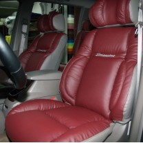 [SEATLINE] SsangYong Korando Turismo - Deluxe Limousine Seat Cover Set No.39 (8 Seats)