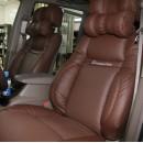 [SEATLINE] SsangYong Korando Turismo - Deluxe Limousine Seat Cover Set No.49 (2 Seats)