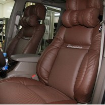 [SEATLINE] SsangYong Korando Turismo - Deluxe Limousine Seat Cover Set No.49 (2 Seats)