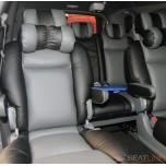 [SEATLINE] SsangYong Korando Turismo - Premium Limousine Seat Cover Set No.51 (2 Seats)