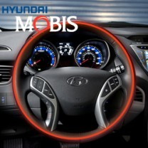 [MOBIS] Hyundai New Accent - Genuine Leather Heated Steering Wheel Kit