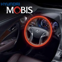 [MOBIS] Hyundai 5G Grandeur HG - Genuine Leather Heated Steering Wheel Kit