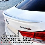 [TUNING FACE] Hyundai Avante MD - Trunk Lid Spoiler Set