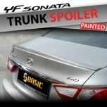 [SQ BASIC] Hyundai YF Sonata - Urethane Trunk Lid Spoiler Set