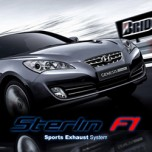 [STERLIN F1] Hyundai Genesis Coupe 380GT - Racing Version Sports Exhaust System