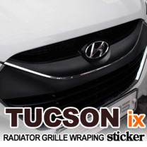 [EXOS] Hyundai Tucson iX - Radiator Grille Wrapping Sticker