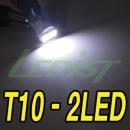[LEDIST] T10 Super White 6000K SMD 5050 LED Bulbs for Interior & Exterior Lighting