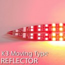 [LEDIST] KIA K3 - Rear Bumper Reflector Moving LED Modules