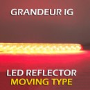 [LEDIST] Hyundai Grandeur IG - Rear Bumper Moving LED Reflector Set