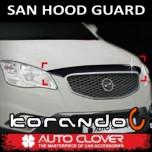 [AUTO CLOVER] SsangYong Korando C - San Hood Guard Molding Set (B040)