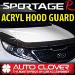 [AUTO CLOVER] KIA Sportage R - Acrylic Hood Guard Set (B106)