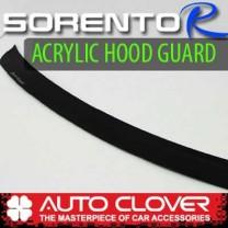 [AUTO CLOVER] KIA Sorento R - Acrylic Hood Guard Set (B108)