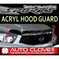 [AUTO CLOVER] SsangYong Korando Sports - Acrylic Hood Guard (B109)