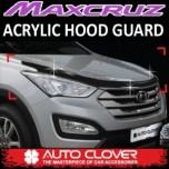 [AUTO CLOVER] Hyundai MaxCruz - Acrylic Hood Guard Molding Set (B112)