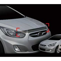 [AUTO CLOVER] Hyundai New Accent​ - Acrylic Hood Guard Set (B122)