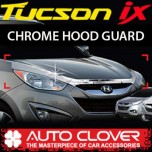 [AUTO CLOVER] Hyundai Tucson iX - Hood Guard Chrome Molding (B514)