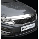 [AUTO CLOVER] KIA The New K5​ - Hood Guard Chrome Molding (B518)
