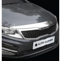 [AUTO CLOVER] KIA The New K5 - Hood Guard Chrome Molding (B518)