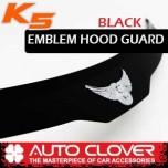 [AUTO CLOVER] KIA K5 - Emblem Hood Guard Black Molding (D554)