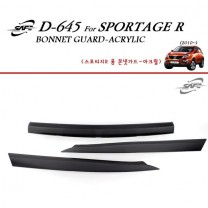 [KYOUNG DONG] KIA Sportage R - Acrylic Bonnett Guard Molding (D-645)