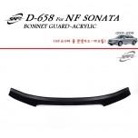 [KYOUNG DONG] Hyundai NF Sonata - Acrylic Bonnett Guard Molding (D-658)