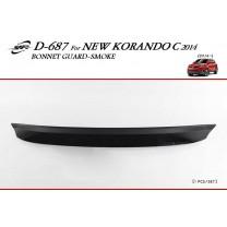 [KYOUNG DONG] SsangYong New Korando C - Smoked Bonnett Guard Molding (D-687)