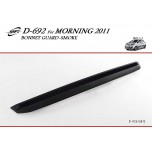 [KYOUNG DONG] KIA All New Morning - Smoked Bonnet Guard Molding (D-692)