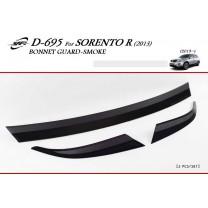 [KYOUNG DONG] KIA New Sorento R - Smoked Bonnet Guard Molding (D-695)