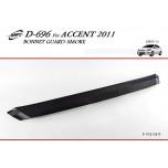 [KYOUNG DONG] Hyundai New Accent - Bonnet Guard Smoked Molding (D-696)
