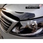 [EUROST] KIA Sportage R - EURO GUARD Molded Hood Guard Smoked