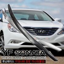 [HSM] Hyundai YF Sonata - Bonnet Garnish Set