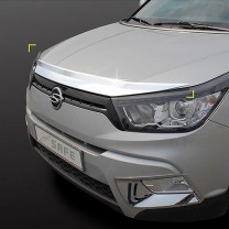 [KYOUNG DONG] SsangYong Tivoli - Chrome Bonnet Guard Set (K-862)