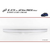 [KYOUNG DONG] KIA All New Pride - Chrome Bonnet Guard Molding (K-878)
