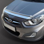 [KYOUNG DONG] Hyundai New Accent - Chrome Bonnette Guard (K-896)
