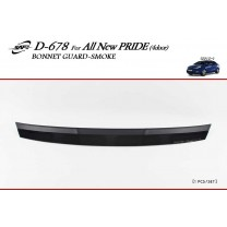 [KYOUNG DONG] KIA All New Pride - Smoked Bonnet Guard Molding (D-678)