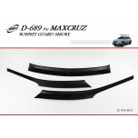 [KYOUNG DONG] Hyundai MaxCruz - Smoked Bonnet Guard Molding (D-689)