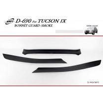 [KYOUNG DONG] Hyundai (New) Tucson iX - Smoked Bonnet Guard Molding (D-690)
