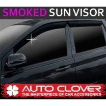 [AUTO CLOVER] SsangYong Korando Sports - Smoked Door Visor Set (A097)
