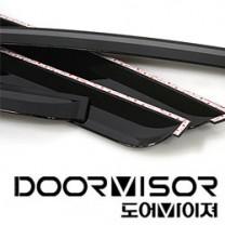 [AUTO CLOVER] KIA Mohave - Smoked Door Visor Set (A105)