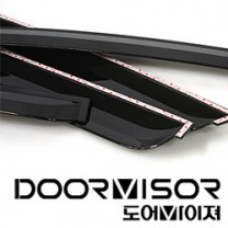 [AUTO CLOVER] Hyundai NF Sonata Transform - Smoked Door Visor Set (A081)