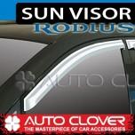 [AUTO CLOVER] SsangYong Rodius - Chrome Door Visor Set (A426)