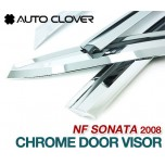 [AUTO CLOVER] Hyundai NF Sonata Transform​ - Chrome Door Visor Set (A431)