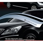 [AUTO CLOVER] Hyundai i30 - Chrome Door Visor Set (A457)