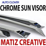 [AUTO CLOVER] Chevrolet Spark - Chrome Door Visor Set (A471)