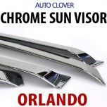 [AUTO CLOVER] Chevrolet Orlando - Chrome Door Visor Set (A489)