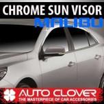 [AUTO CLOVER] Chevrolet Malibu - Chrome Door Visor Set (C500)