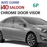 [AUTO CLOVER] Hyundai i40 Saloon - Chrome Door Visor Set (C506)