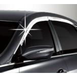 [AUTO CLOVER] Hyundai Grandeur HG - Chrome Door Visor Set (C515)